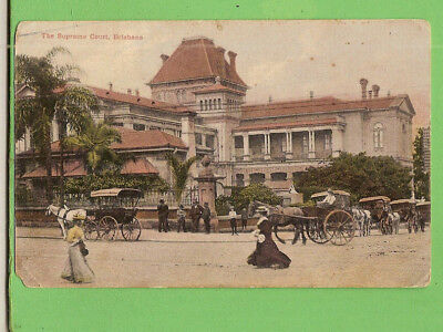 #f.  Australiana Postcard  - The Supreme Court, Brisbane, 1908