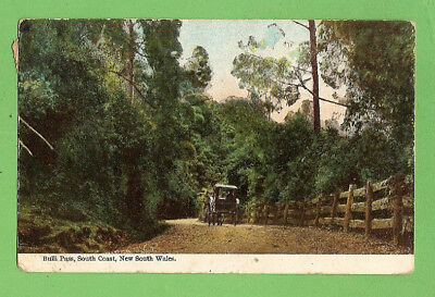 #g.   1906  Australiana Postcard  - Bulli  Pass, South Coast, Nsw