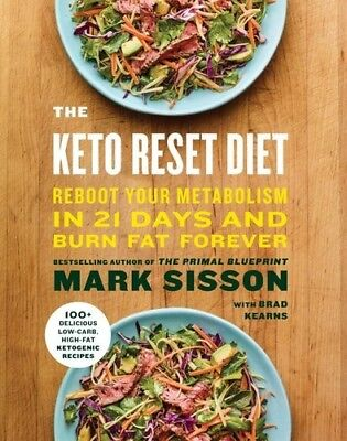 The Keto Reset Diet [New Book] Hardcover