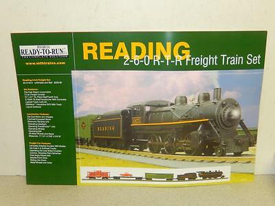 "Mth Railking Poster- Reading Freight Set- 17 X 11""- New- W3"