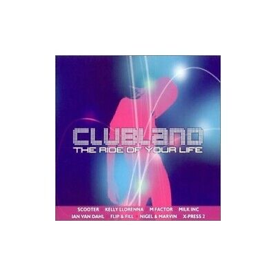 Various Artists - Clubland - Various Artists CD O9VG The Cheap Fast Free Post