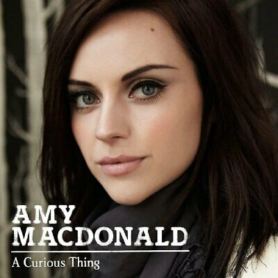 Amy Macdonald - A Curious Thing - Amy Macdonald CD R2VG The Cheap Fast Free Post