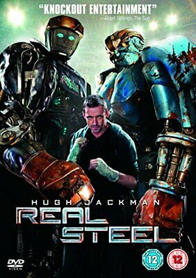 Real Steel [DVD] - DVD  GAVG The Cheap Fast Free Post