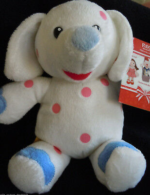 RARE! BABW Build a Bear Pink Spotted Elephant Rudolph Misfit Doll Plush NWT