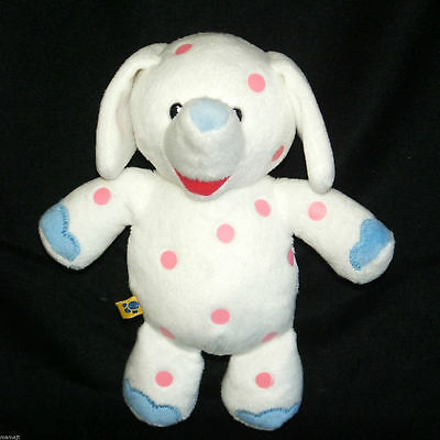 RARE! BABW Build a Bear Pink Spotted Elephant Rudolph Misfit Doll Plush NWOT