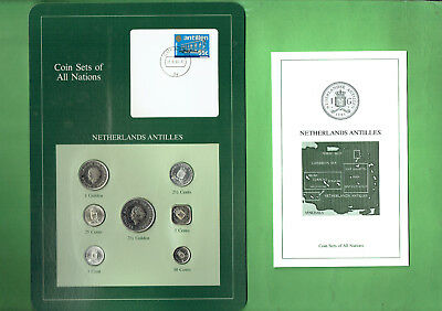 Carded  Coins Of The World - Netherlands