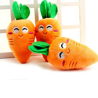 Carrot Plush Chew Squeaker Cute Puppy Pet Supplies Sound Squeaky Dog Toys