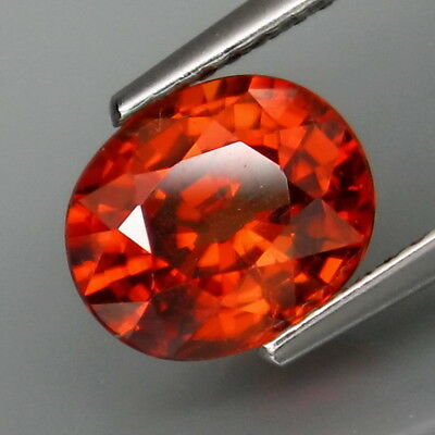 3.07Ct.Very Good Color&Full Sparkling! Natural Imperial Zircon Tanzania