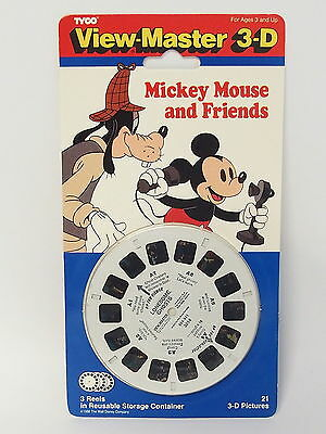 View-Master 3-D - Tyco - 3 Scheiben 3054 - Disney Micky Mouse and Friends NEU
