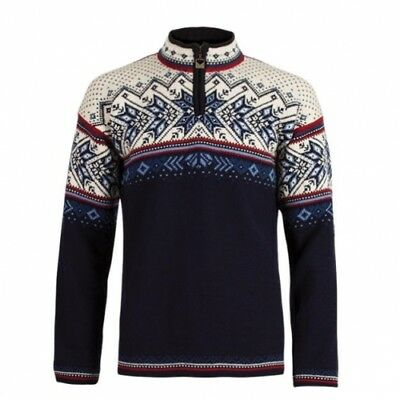 Dale of  Norway Vail midnight navy/red rose/off white Sweater Pullover Pulli