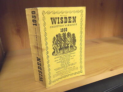 1959 John Wisden's Cricketers' Almanack - Softback