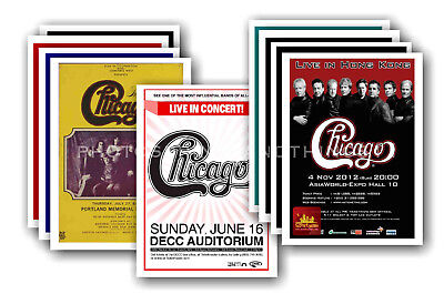CHICAGO - 10 promotional posters - collectable postcard set # 1