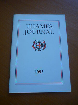 1993  Journal Of The Thames Rowing Club