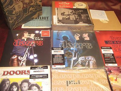 The Doors Absolutely Live N.y. Hollywood Bowl Fog + Hits Rsd 40Th 13 Lp Set
