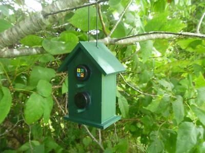 Double Cache Bird House Geocache Container, Nice Hide!