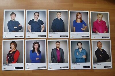 10,    Official ITV Photo Cast Cards, Emmerdale,