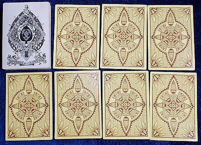 """Antique Playing Cards -  Goodall And Son """" Bezique """" Deck  C.1870"""
