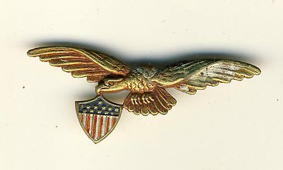 eagle wings with US  shield 5 cm