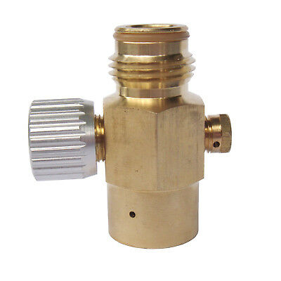 New paintball Inner Thread CO2 Tank On/Off Valve