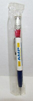 AMP Inc Floating Pen with electrical connector , mint in package, Floaty Pen