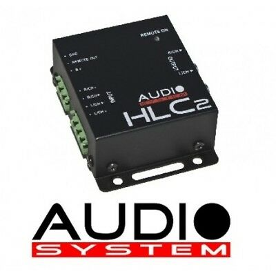 Audio System HLC2 2 Kanal High-Low Adapter + Remote HLC 2 High Low Adapter