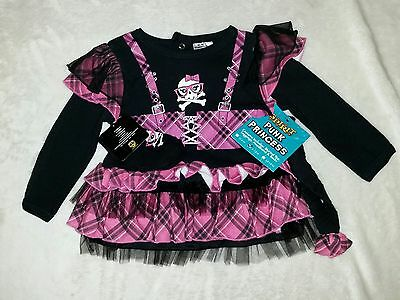 Punk Princess Pink Halloween costume Spirit Store Infant Size 6-12 Months