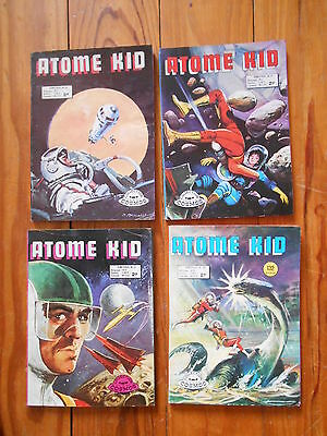 LOT de 4 bimestriels ATOME KID :    Ed AREDIT  collection cosmos