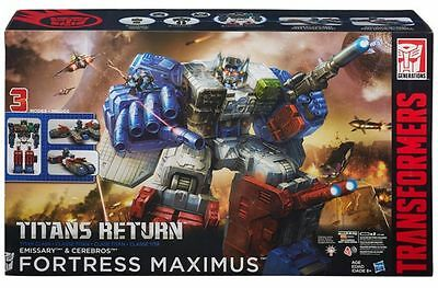 Transformers Titans Return Fortress Maximus Action Figure NEW