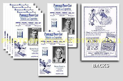 EXETER CITY - REPRO 1920's PINNACE A6 ADVERT CARDS - SET OF 26
