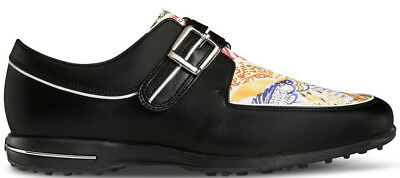 FootJoy Ladies Tailored Collection Golf Shoes Black/Graffiti 7.5 Medium