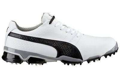 Puma Titantour Ignite Golf Shoes White/Black 9.5 Medium