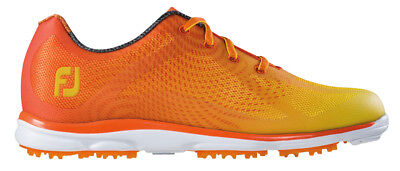FootJoy emPower Ladies Golf Shoes Orange/Yellow 9 Medium