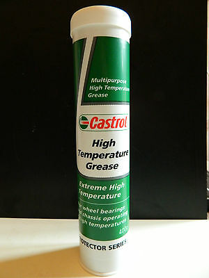 Castrol Extreme High Temperature Grease 1 X 400G CARTRIDGE. -30 to + 150 deg