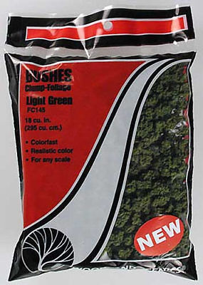NEW Woodland Scenics Bushes Clump Foliage Light Green FC145