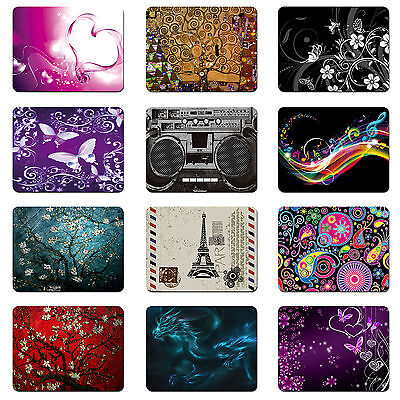 Neoprene Soft Mouse Pad Laptop Computer PC Optical MousePad 8.5X7 inch