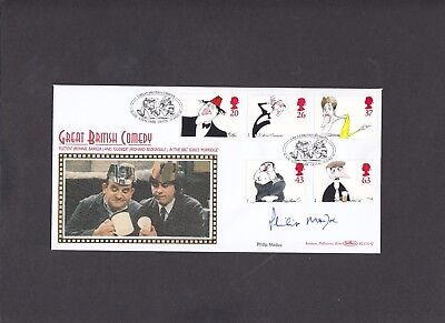 1998 Comedy Benham FDC signed by Philip Madoc