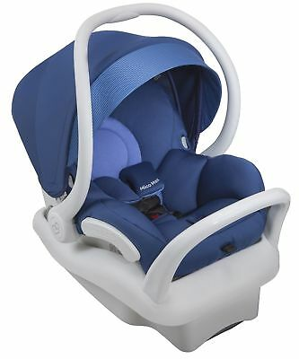 Maxi-Cosi Mico Max 30 White Air Protect Infant Baby Car Seat w/ Base Blue Base
