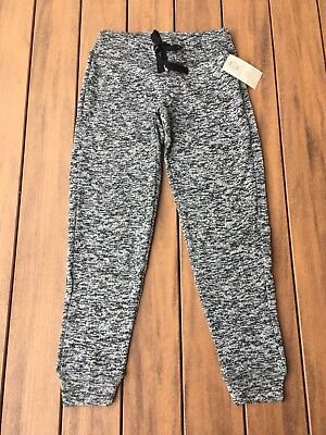 NWTs Balance Collection Knit Sweat Pant Jogger Soft Gray Green Speckle Size M