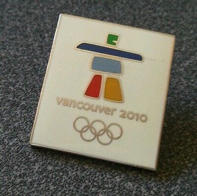 Vancouver 2010 Olympic Logo pin