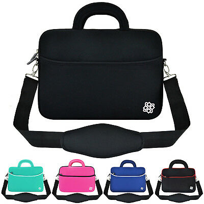 """11.6"""" - 12"""" Luxury Ultrabook Laptop Shoulder Strap Sleeve Handle Bag Pouch Cover"""