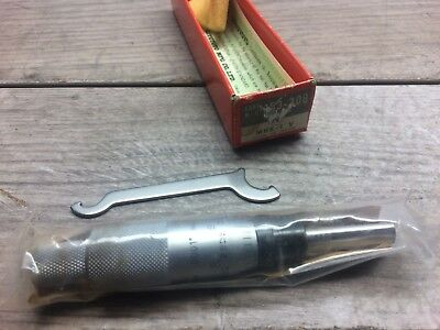 "New Mitutoyo 153 0 -1 "" Micrometer Head Carbide Tipped .0001"""