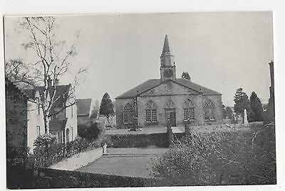 Scotland, Currie Kirk Old Postcard, A687