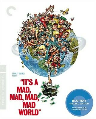 It's a Mad, Mad, Mad, Mad World (Criterion Collection) [New Blu-ray] Restored,