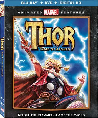 Thor: Tales Of Asgard [New DVD] With Blu-Ray, Widescreen, 2 Pack, Ac-3/Dolby D