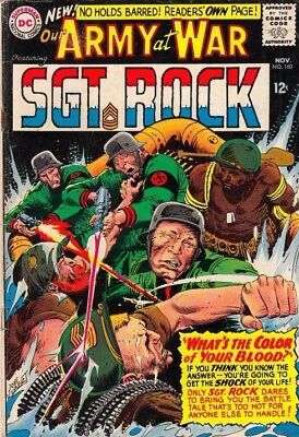 Our Army at War #160 Sgt Rock strict VG/FN 5.0 More DC War just listed