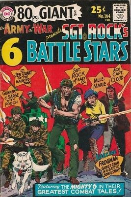 Our Army at War #164 Sgt. Rock strict FN/VF 7.0 High-Grade All DC War Characters