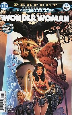Wonder Woman #25 (NM) `17 Rucka/ Sharpe/ Evely (Cover A)