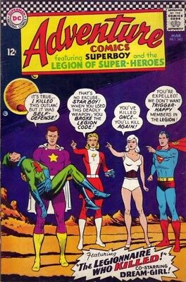 Adventure Comics 342 strict VG/FN+ 5.5 1966 Substitute Legion More posted 50%OFF