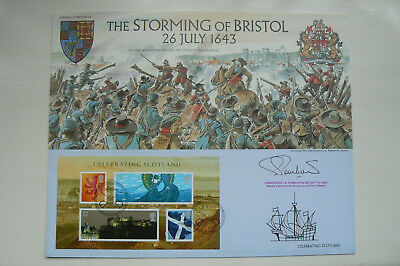 BENHAM HERITAGE OF BRITAIN No 38 SIGNED FDC THE STORMING OF BRISTOL