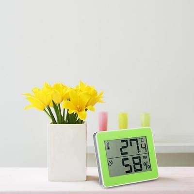 Digital Indoor Thermometer Hygrometer LCD Display Meter Touch-key Operation